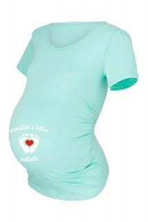 9f4538ff67 Mätové tehotenské tričko empty