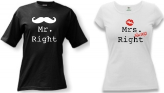MR & MRS right